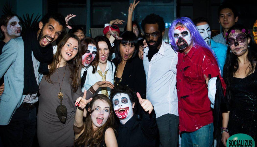 International Halloween Champs Elysees